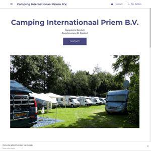 Camping Internationaal Priem