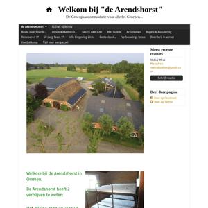 Kampeerboerderij De Arendshorst