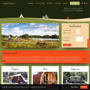 Camping Bosbad Zwinderen