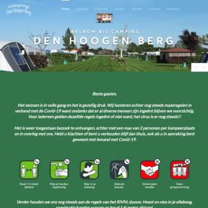 Camping Den Hoogen Berg