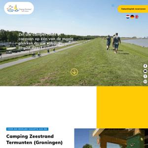 Camping Zeestrand Eems-Dollard