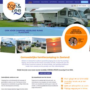 Camping Zon en Zee