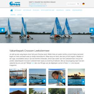 Watersportcamping Cnossen Leekstermeer