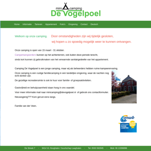 Minicamping De Vogelpoel