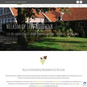 Wijngaard Camping Erve Wisselink