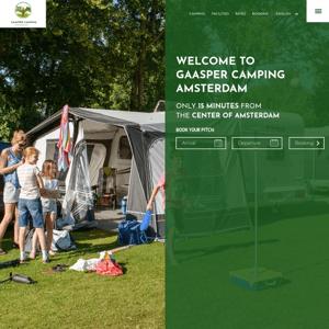 Gaasper Camping Amsterdam
