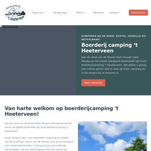Boerderijcamping 't Heeterveen