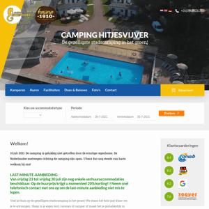 Camping Hitjesvijver
