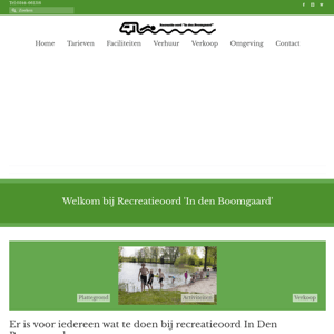 Recreatie Oord in den Boomgaard