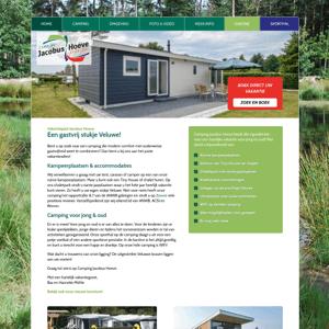 Camping en Sporthal Jacobus Hoeve