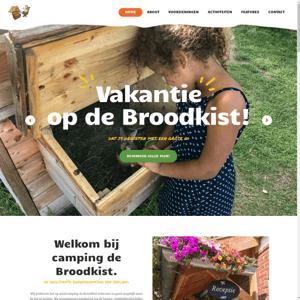 Minicamping de Broodkist
