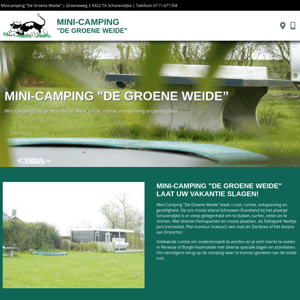 Camping De Groene Weide