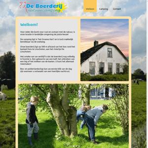 Natuurcamping De Boerderij
