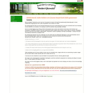 Camping Nederrijkswald