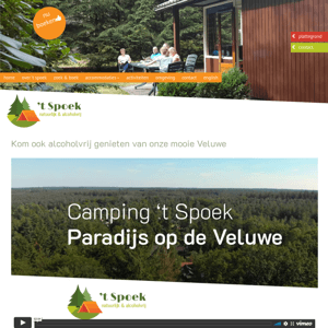 Alcoholvrije camping 't Spoek