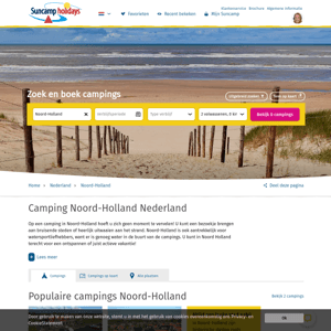Suncamp campings Noord-Holland
