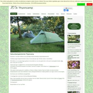 Natuurkampeerterrein en Galerie Thyencamp