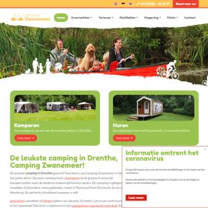 Boscamping Zwanemeer